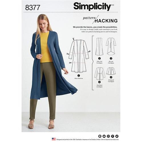 Simplicity 8377 Kreativ - Mantel oder Jacke