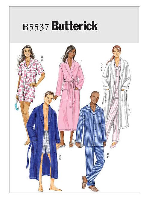 Butterick B5537 Morgenmantel& Pyjama