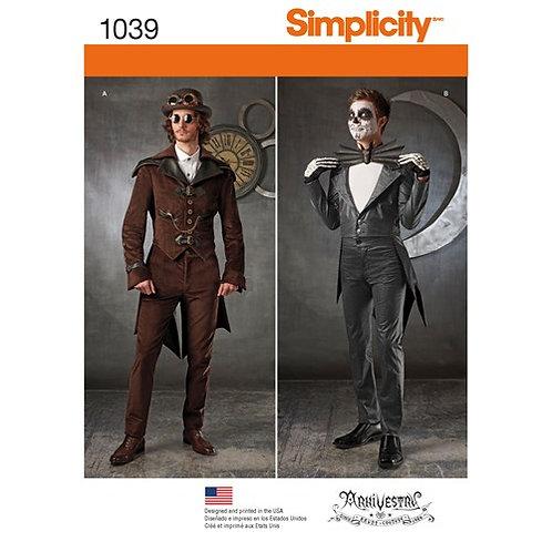 Simplicity 1039 Herren Cosplay - Kostüme