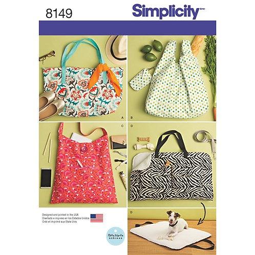 Simplicity 8149 Tasche und Hundereisebett