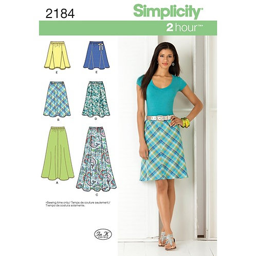 Simplicity 2184 leichter Sommer - Rock