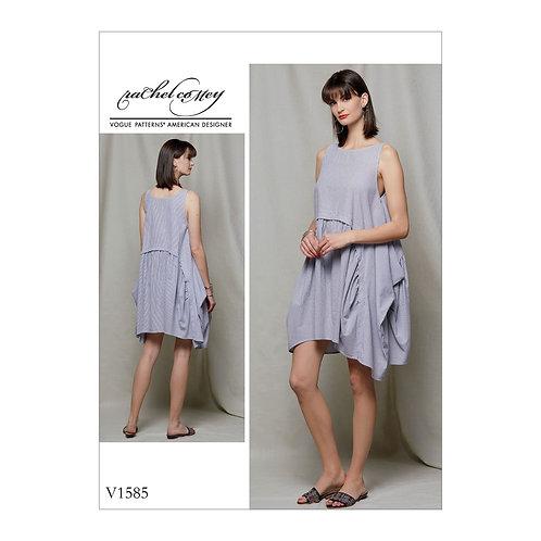 Vogue V1585 lockeres Designerkleid by Rachel coMey