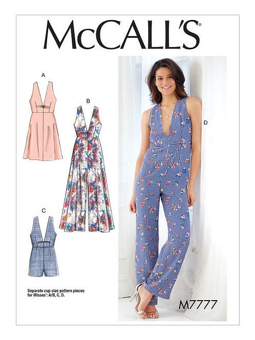 McCall's 7777 Kleid & Overall