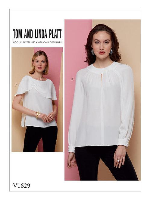 Vogue V1629 Bluse by Tom and Linda Platt