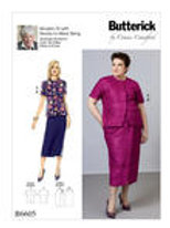 Butterick B6605 Rock und Bluse by Connie Crawford