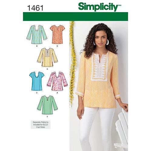 Simplicity 1461 Tunikabluse