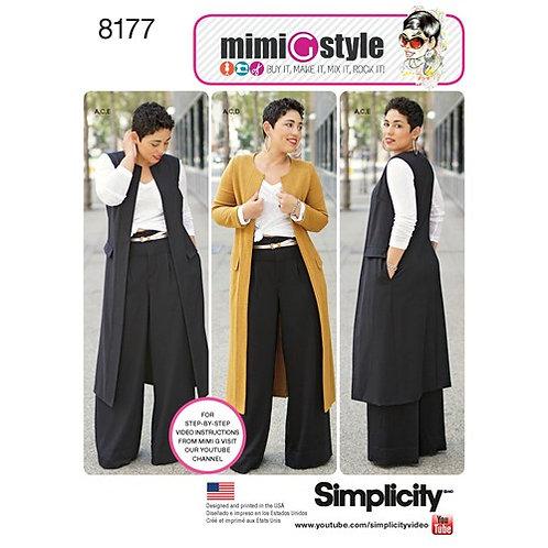 Simplicity 8177 sportliche Kleidung