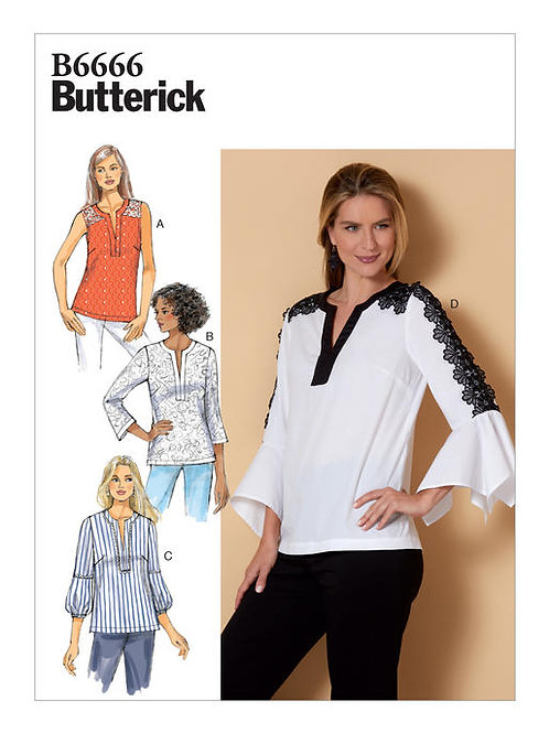 Butterick B6666 lockere Bluse