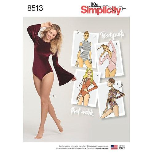 Simplicity 8513 Body