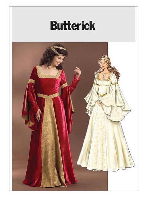Butterick B4571 Fantasy - Kleid