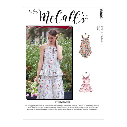 McCall's 8093 Bluse