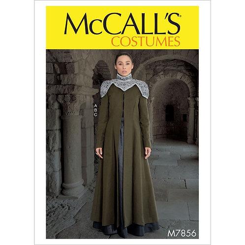 McCall`s M7856 Historische Kleidung