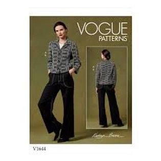 Vogue V1644 Designer-Jacke & Hose by Kathryn Brenne