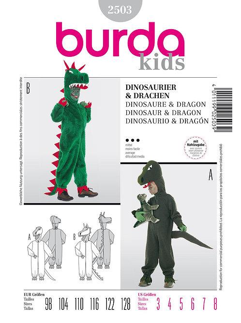 Burda 2503 Drache & Dino Overall