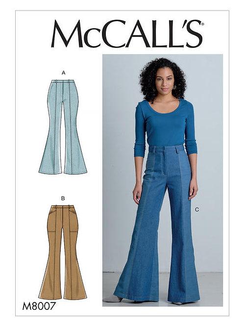 McCall's 8007 Hosen mit Schlag