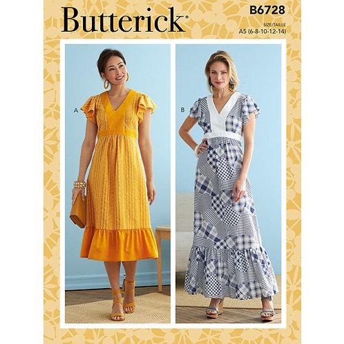 Butterick B6728 Sommerkleid