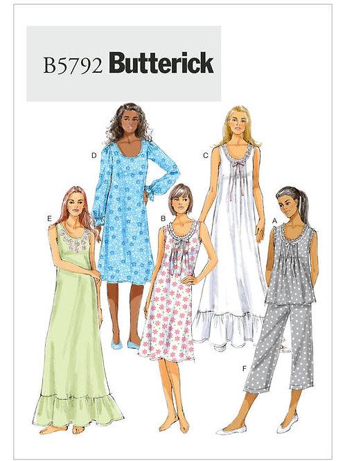 Butterick B5792 Kleid & Hose