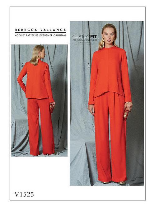 Vogue V1525 Hose & Bluse by Rebecca Vallance