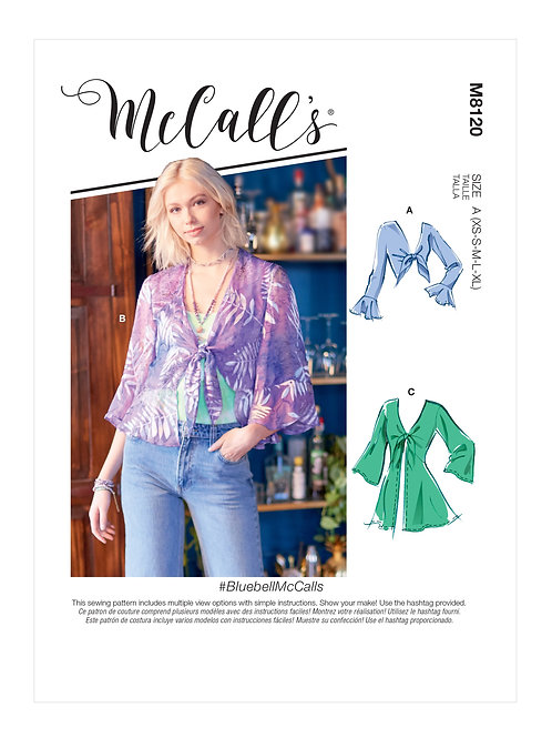 McCall's 8120 Bluse