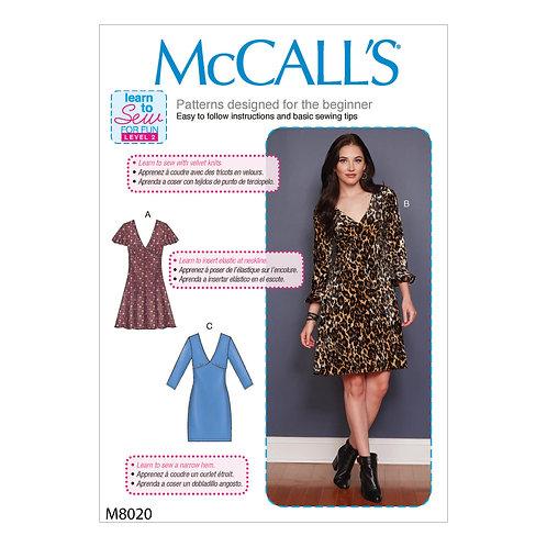 McCall`s M8020 Kleid