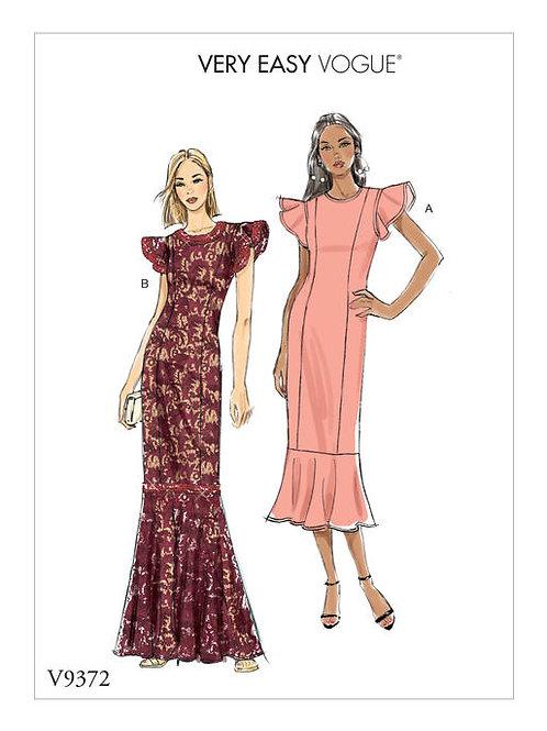 Vogue V9372 besonderes Abendkleid