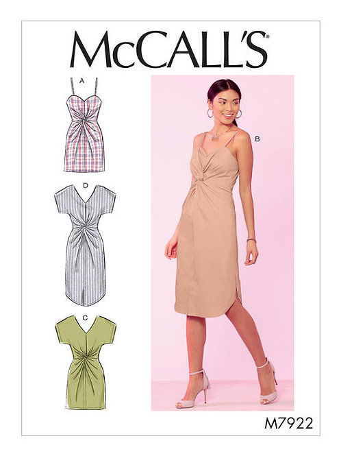 McCall's 7922 sommerliches Kleid in Variationen