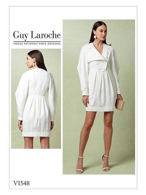 Vogue V1548 Designerkleid by Guy Laroche
