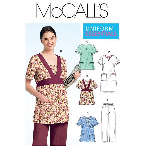McCall`s M5895 Hose,Shirt,Arbeitskittel