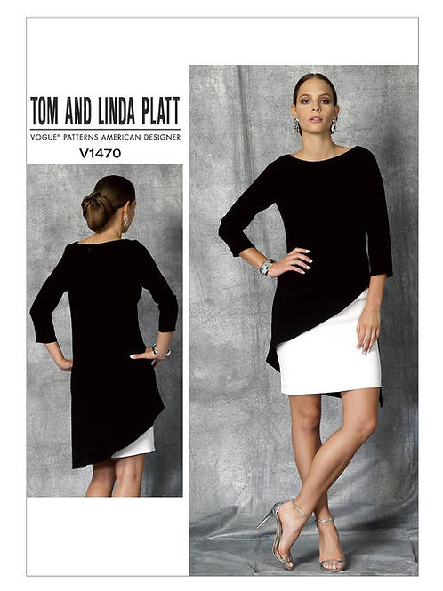 Vogue V1470 Double-Layer Kleid by Tom and Linda Platt