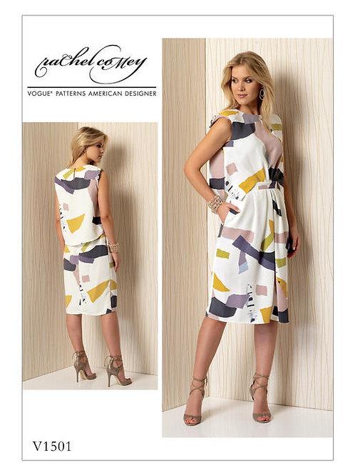 Vogue V1501 ärmelloses Kleid by Rachel coMey
