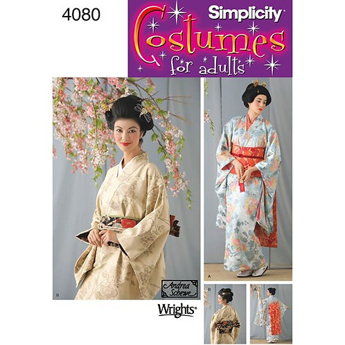 Simplicity 4080 Geisha - Kostüm