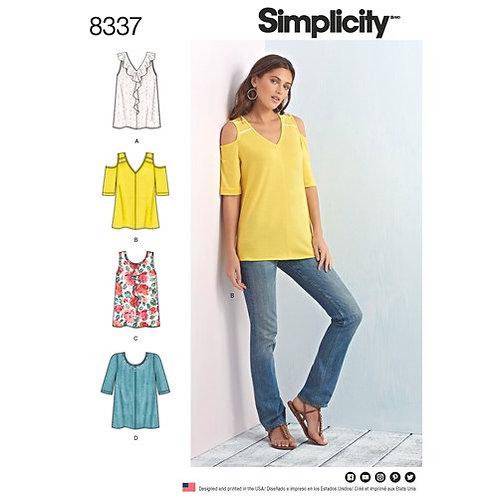 Simplicity 8337 Tops