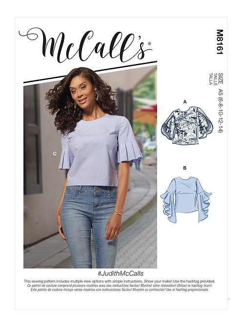 McCall's 8161 edle Bluse
