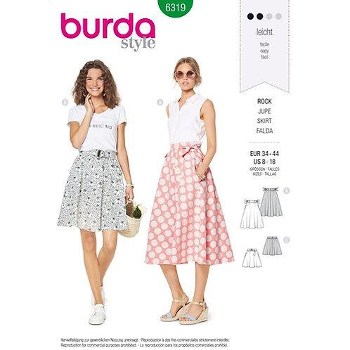 Burda 6319 weiter Sommerrock