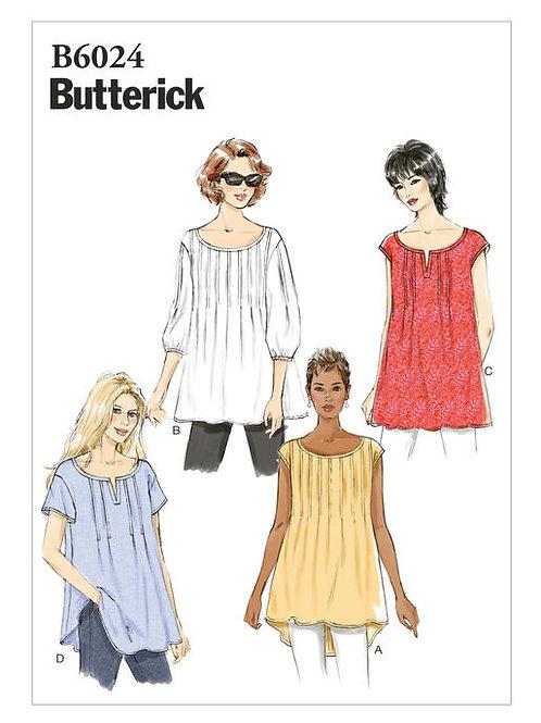Butterick B6024 Blusenshirt