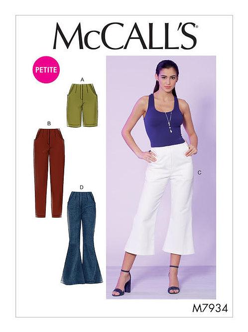McCall's 7934 Hose mit Varianten