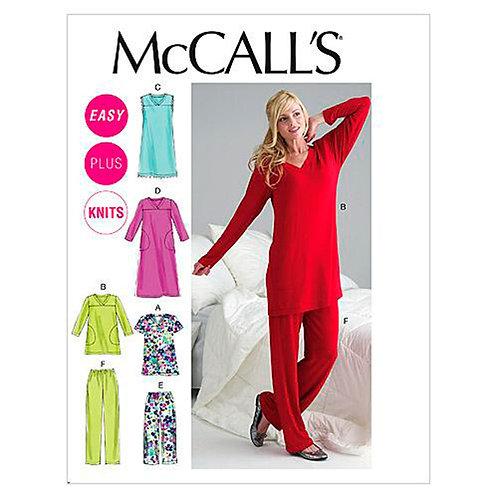 McCall`s M6474 Hose und Shirt