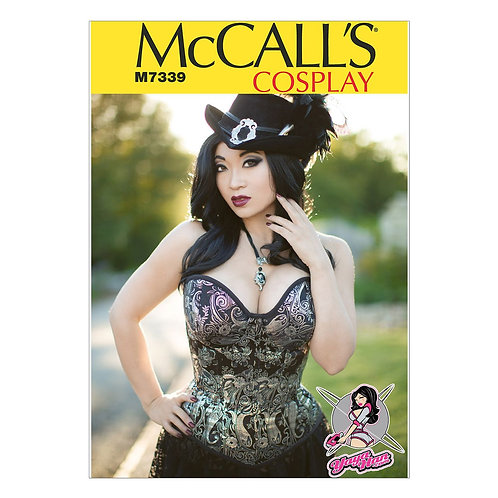 McCall`s M7339 Corsage