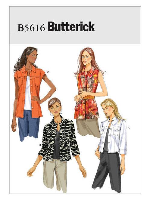 Butterick B5616 Jeansjacke