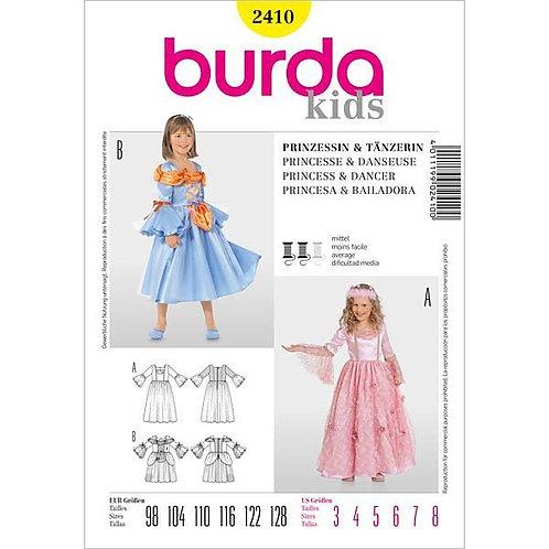 Burda 2410 Prinzessin & Tänzerin