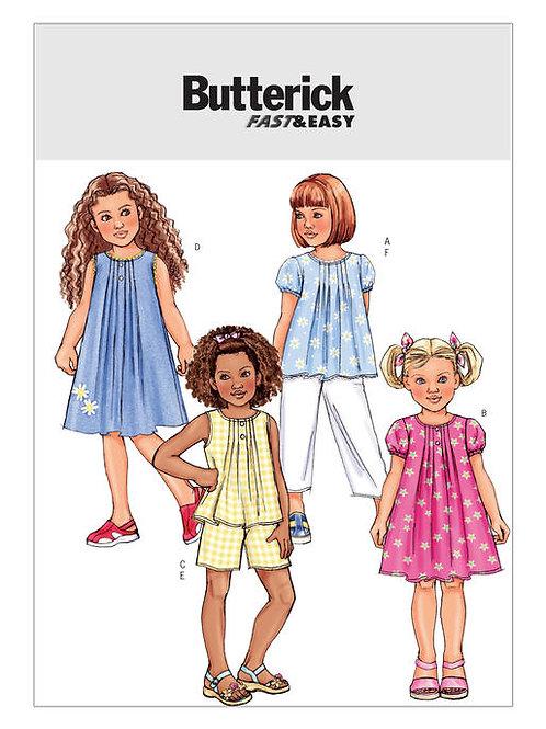 Butterick B4176 Hängerkleid / Shirt & Hose