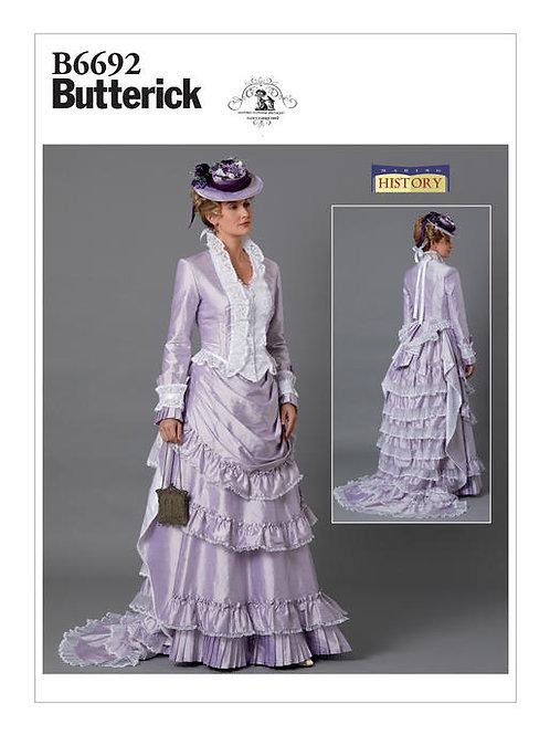 Butterick B6692 viktorianisches Kostüm