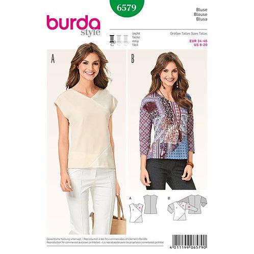 Burda 6597 Patchwork - Bluse