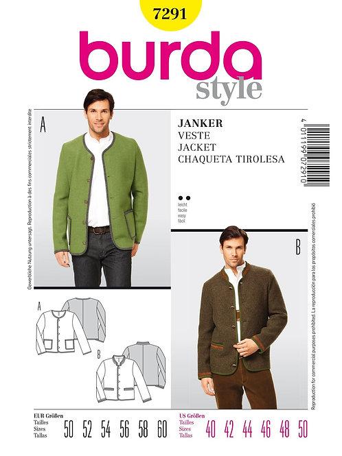 Burda 7291 Janker