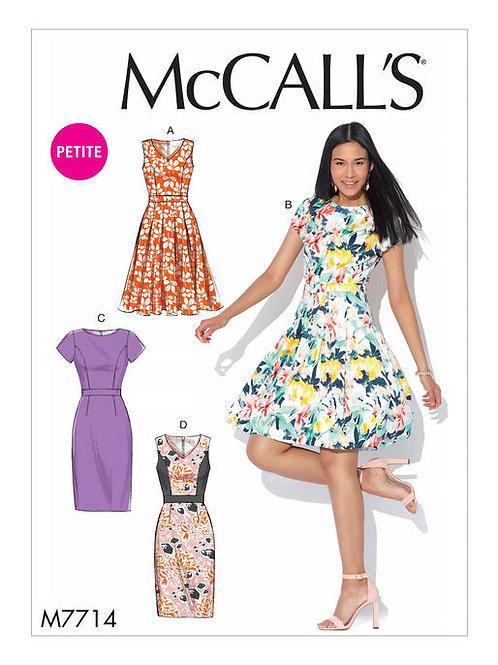McCall's 7714 Sommerkleid mit Variationen