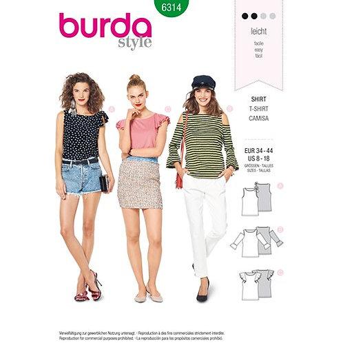 Burda 6314 Shirt & Top