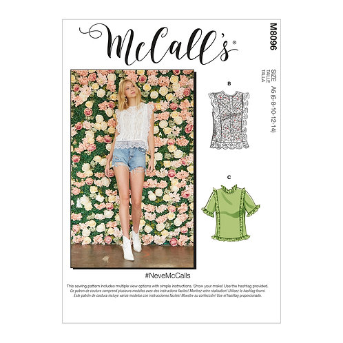 McCall's 8096 Bluse