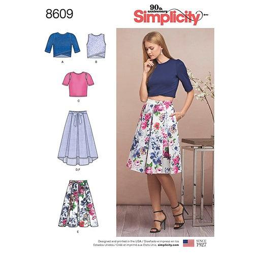 Simplicity 8609 Rock & Shirt