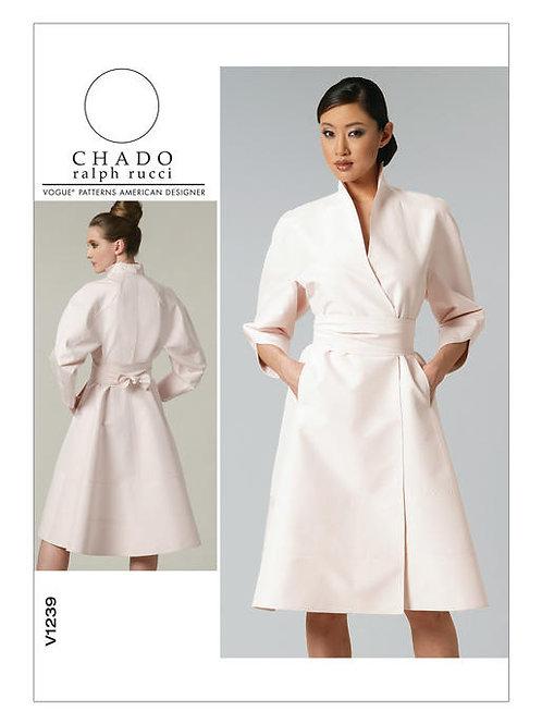 Vogue V1239 Mantelkleid by Chado
