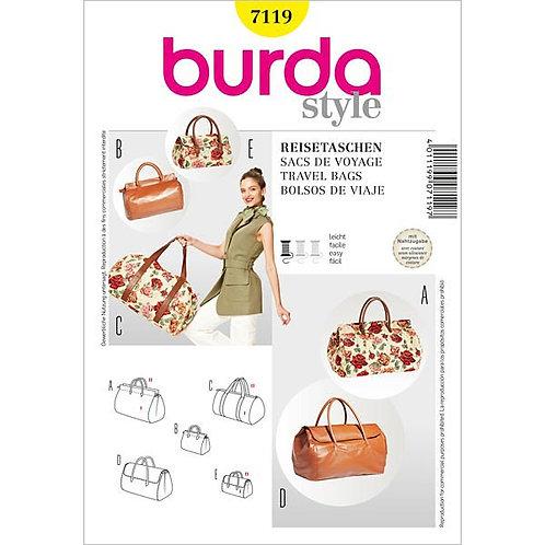 Burda 7119 Reisetasche in zwei Größen